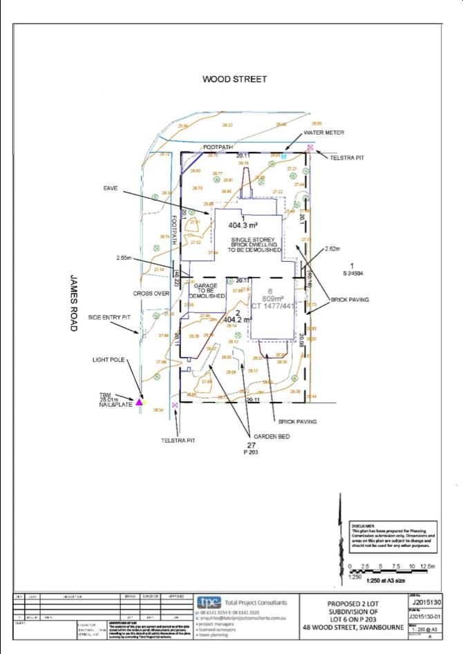 Feature Survey | Total Project Consultants | Land Surveyors Rockingham